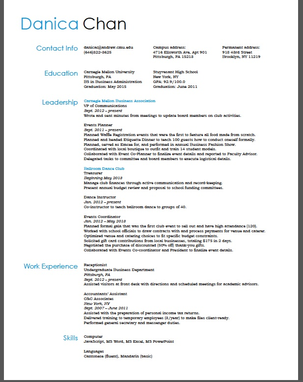 Resume Design Business  Best Images About Cv Template On